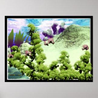 Underwater Scene #1 Poster
