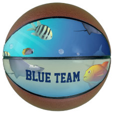 Underwater Scene Basketball