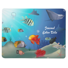 Underwater scene journal
