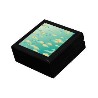 Underwater scene keepsake box