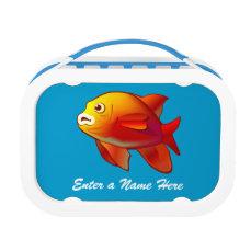 Underwater scene lunch box