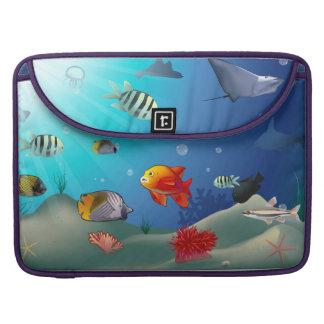 Underwater scene sleeves for MacBooks