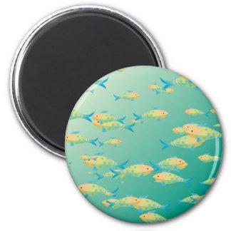 Underwater scene magnets