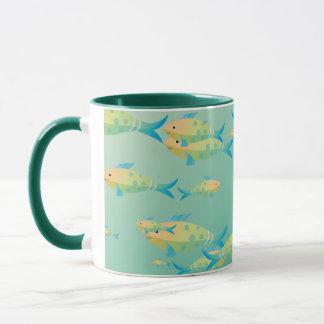 Underwater scene mug