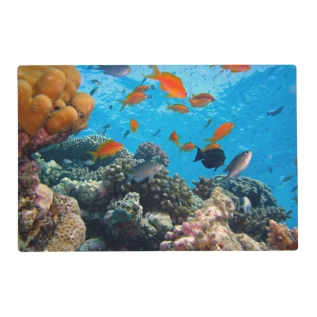 Underwater Scene Placemat at Zazzle
