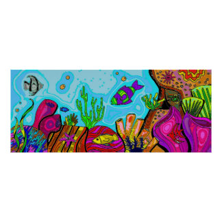 Underwater Scene Print