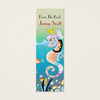 Underwater Scene, Skinny Card Bookmark