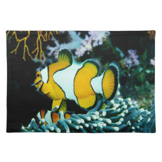 Underwater Sea Creatures American MoJo Placemat Cloth Placemat