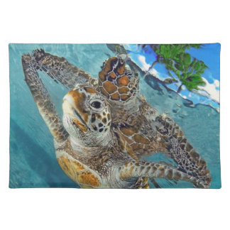 Underwater Sea Creatures American MoJo Placemat Cloth Place Mat