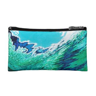 Underwater Sea everyday cosmetic bag by M. Juul