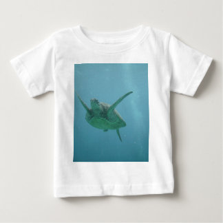Underwater Sea Turtle Baby T-Shirt
