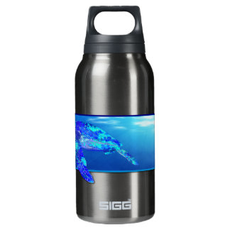 Underwater Sea Turtle Insulated Water Bottle