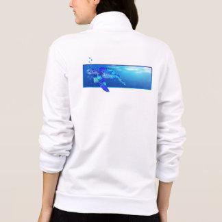 Underwater Sea Turtle Jacket