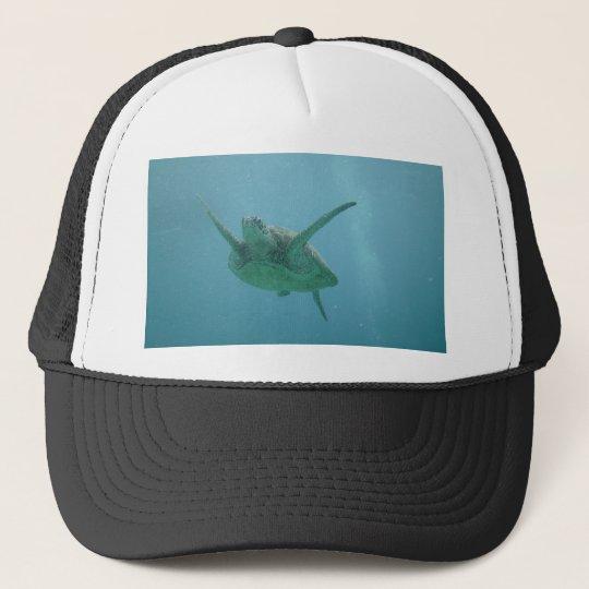 Underwater Sea Turtle Trucker Hat