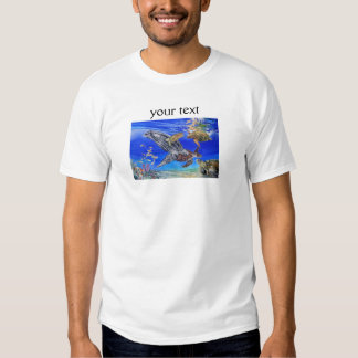 Underwater Sea Turtles Art Endangered Species T-shirt