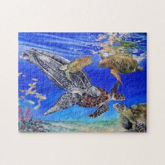 Underwater Sea Turtles Puzzle