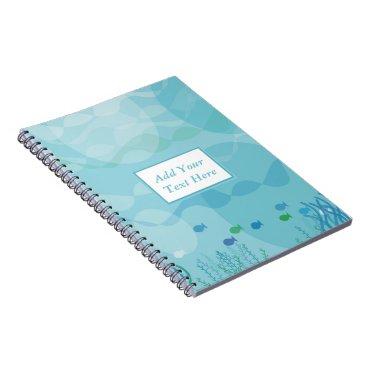 Professional Business Underwater Shadows Spiral Notebook