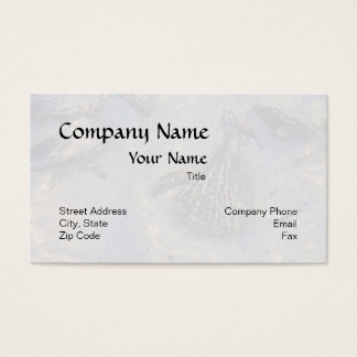Underwater Shell Background Business Card