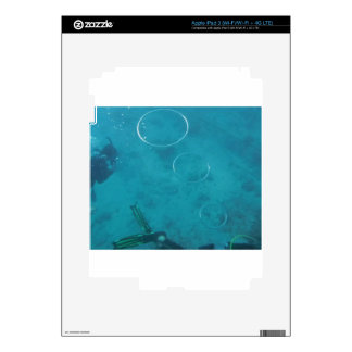 Underwater Smoke Rings Decals For iPad 3
