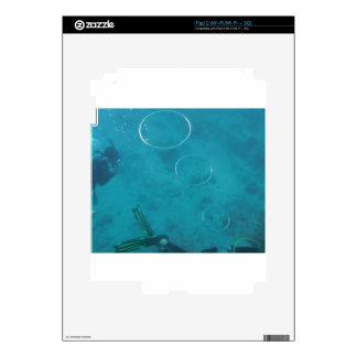 Underwater Smoke Rings iPad 2 Skin