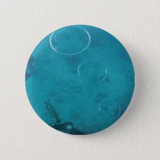 Underwater Smoke Rings Pinback Button
