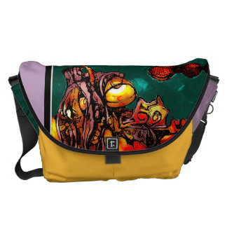 Underwater Space Traveler Bag Courier Bag