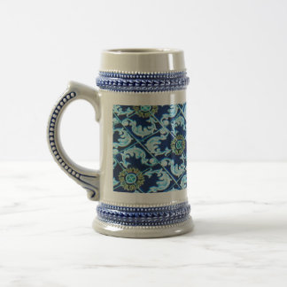 Underwater Spanish Tile Beer Stein