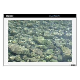 Underwater Stones Laptop Decal