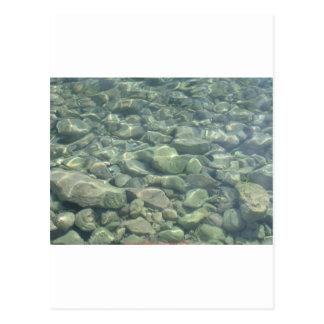 Underwater Stones Postcard
