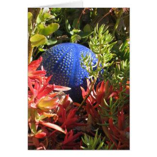 Underwater Succulent Plant Garden Art Cards Card