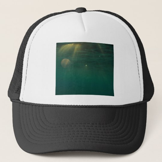 Underwater Sunset Trucker Hat