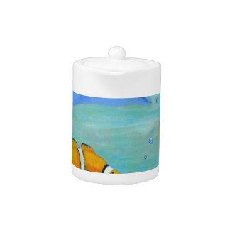 Underwater Teapot