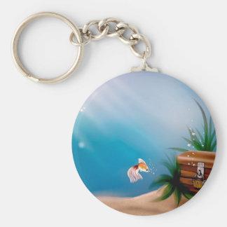 UNDERWATER TREASURE! (goldfish) ~ Key Chain