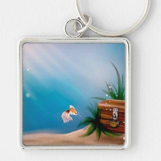UNDERWATER TREASURE! (goldfish) ~ Keychains