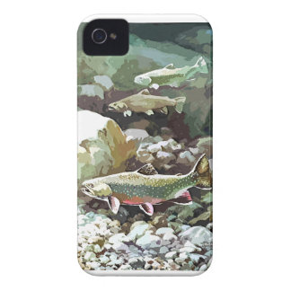 UNDERWATER TROUT SCENE iPhone 4 Case-Mate CASES