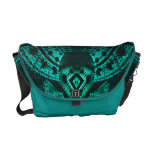 Underwater Turquoise Structure Medium Messenger Ba Courier Bags