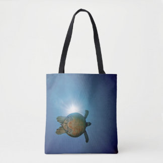 Underwater Turtle| Andaman Sea, Thailand Tote Bag