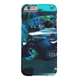 Underwater, Turtles and butterfly Barely There iPhone 6 Case