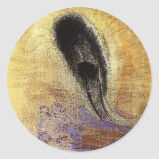 Underwater Vision  by Odilon Redon Stickers
