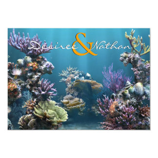 Underwater Wedding Invitation
