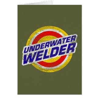 Underwater Welder Card
