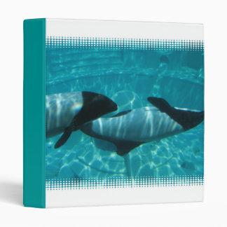 Underwater Whales Binder