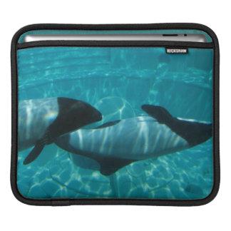 Underwater Whales  iPad Sleeve