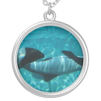 Underwater Whales Necklace