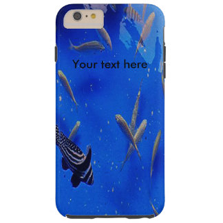 Underwater world clownfish swimming in the ocean tough iPhone 6 plus case
