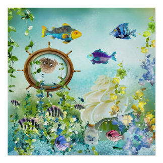 Underwater world III Poster