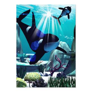 Underwater world cards