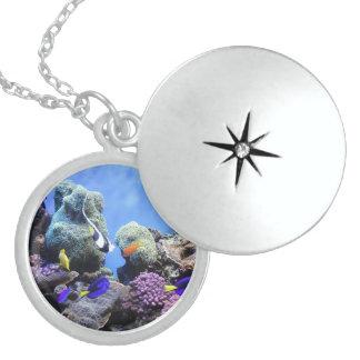 Underwater World medallion Necklaces