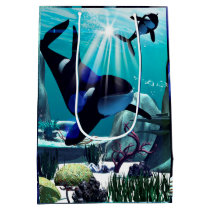 Underwater world medium gift bag