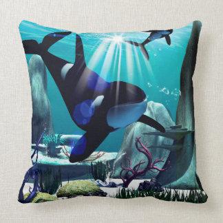 Underwater world pillows